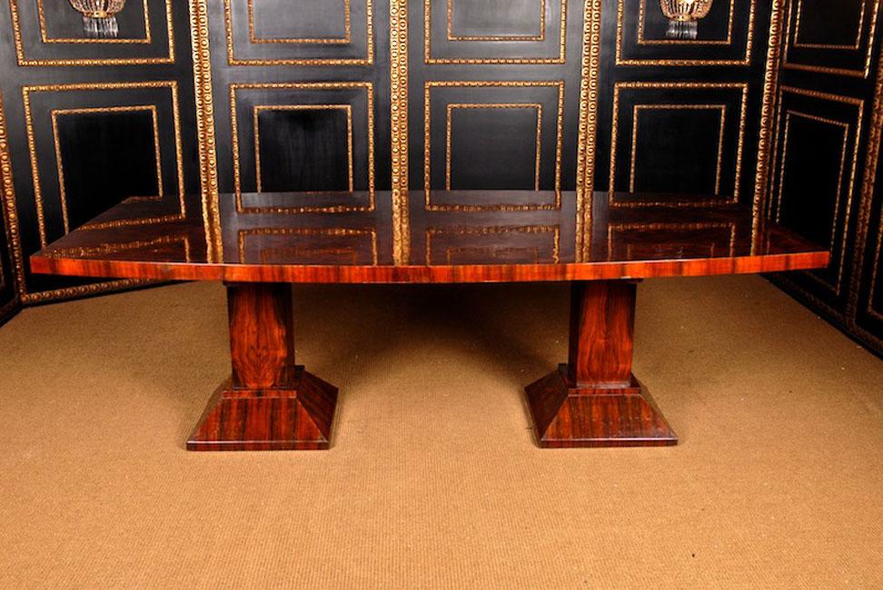 edler konferenztisch esstisch holz tisch im art deco stil. Black Bedroom Furniture Sets. Home Design Ideas