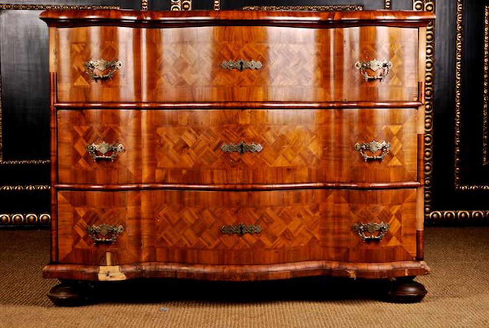 d 47 originale barock kommode antik sideboard schrank um 1750 ebay. Black Bedroom Furniture Sets. Home Design Ideas