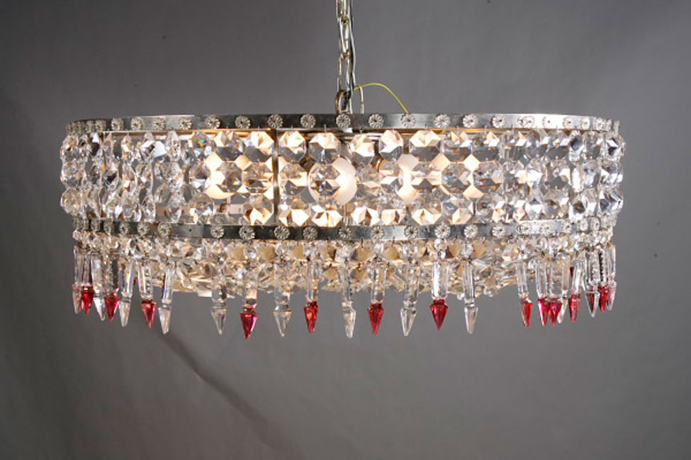 Kronleuchter Lampe ~ Lüster kristall behang im klassizismus stil um kronleuchter
