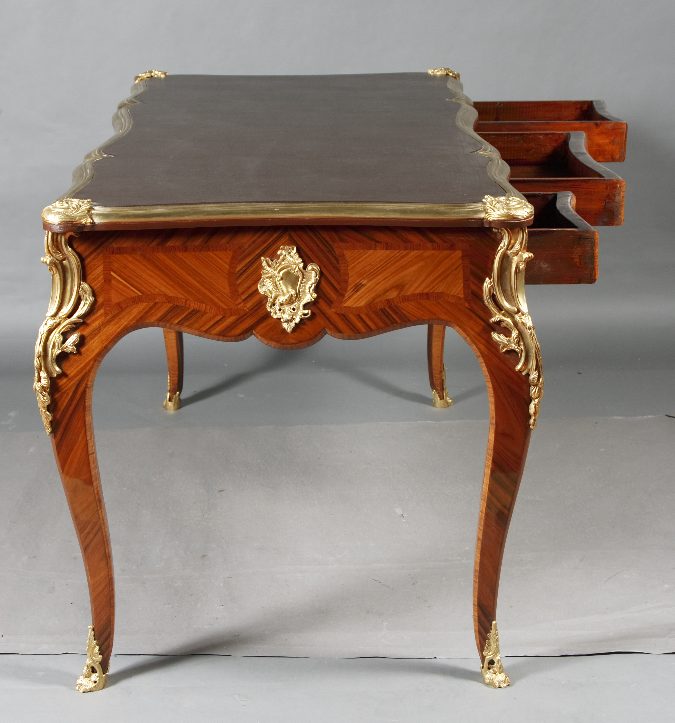 desk bureau plat in the louis xv style ebay. Black Bedroom Furniture Sets. Home Design Ideas