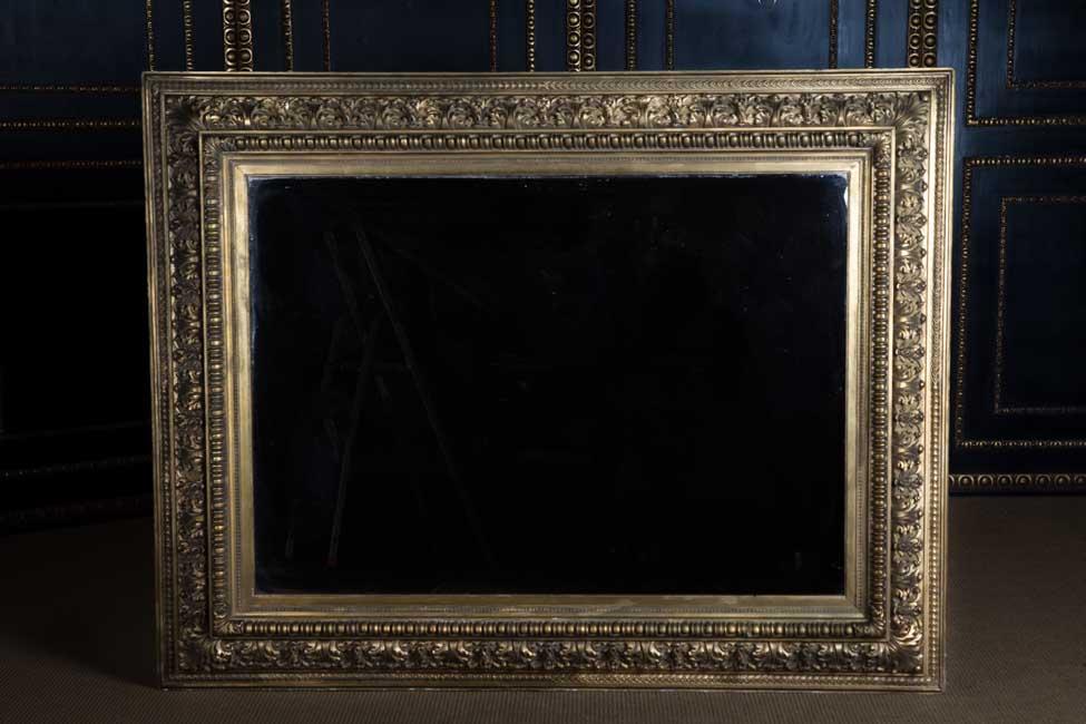 Monumentaler antiker Spiegel Rahmen 19. Jhd. 180 x 140 cm | eBay
