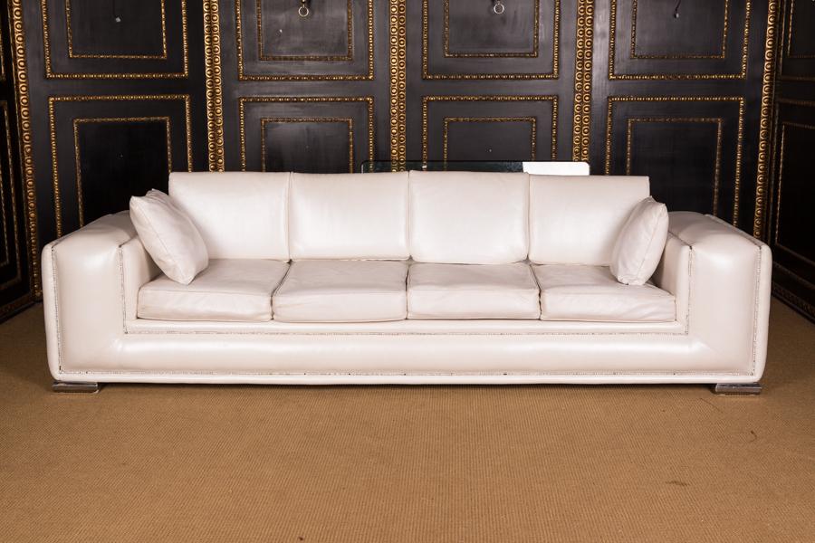 Exclusive Designer Sofa 4 Seater With Swarovski Stones Strass Stones