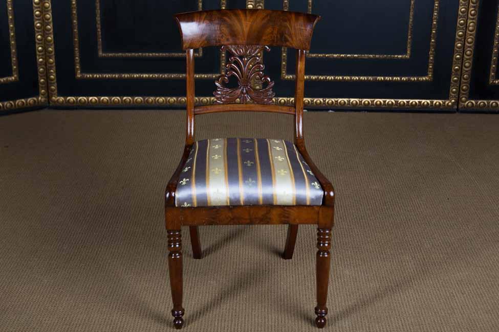 Int ressant style ancien biedermeier chaise 1840 ebay - Chaises de style ancien ...